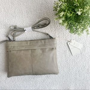 LUCKY BRAND DORI GENUINE LEATHER CROSSBODY BAG